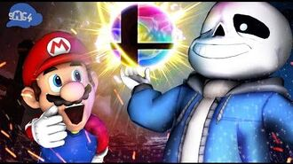 SMG4 Sans's First Day In Smash Bros