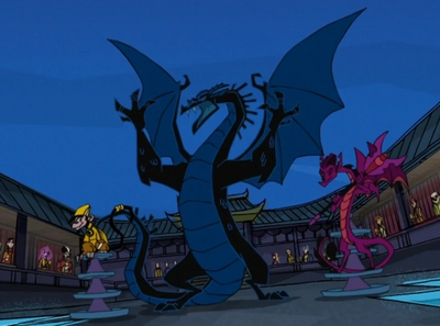Dark Dragon's True Form