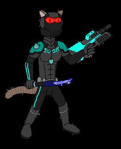 Agent Shuriken (Helmeted)