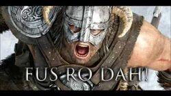 FUS RO DAH - Sound clip