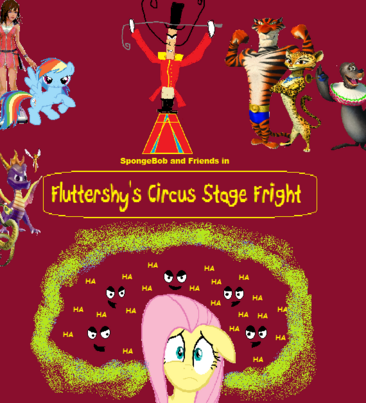 Fluttershy's Circus Stage Fright