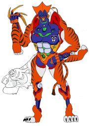 Baloo n sherekhan transformed by tyrranux-d4eijy5