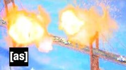 Michael Bay Presents Explosions! Robot Chicken Adult Swim