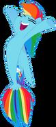 Rainbow Dash (Seapony)