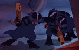 Galactic Alliance soldiers
