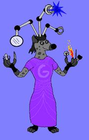 Gadgitia the Hyena