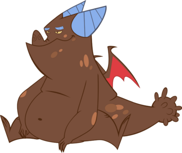 Brown teen dragon by dutchcrafter-d4wd3dx