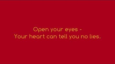 True To Your Heart - 98 Degrees & Stevie Wonder (FULL LYRICS)(HD)