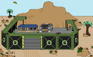 Globex Military Outpost