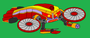 Flying Yellow Crabbot