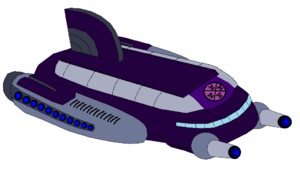 Scourge Empire Warship