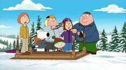 Family Guy GoPro Sledding