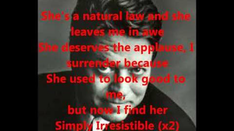 Robert Palmer- Simply Irresistible (With Lyrics)