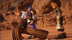 Kingdom Hearts 3 Terra Xehanort vs