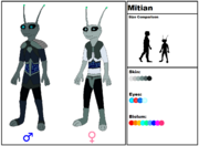 Mïtian Species
