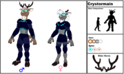 Crystormain Species
