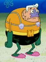 Mermaid Man Pose