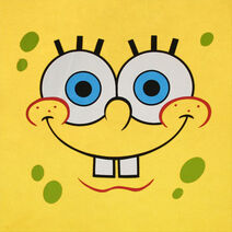 Spongebob Big Face Yellow Shirt