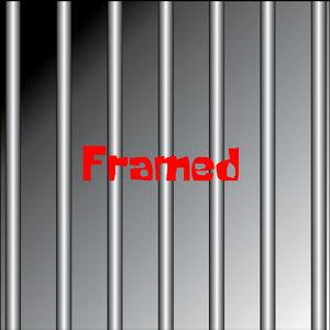 Framed bob squarepants