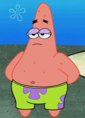 Patrick Spongepocalypse