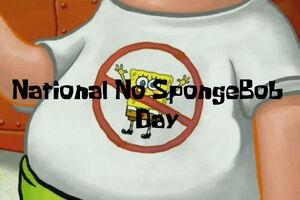 NationalNoSpongeBobDay