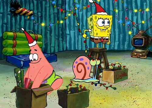 Spongebob-Christmas