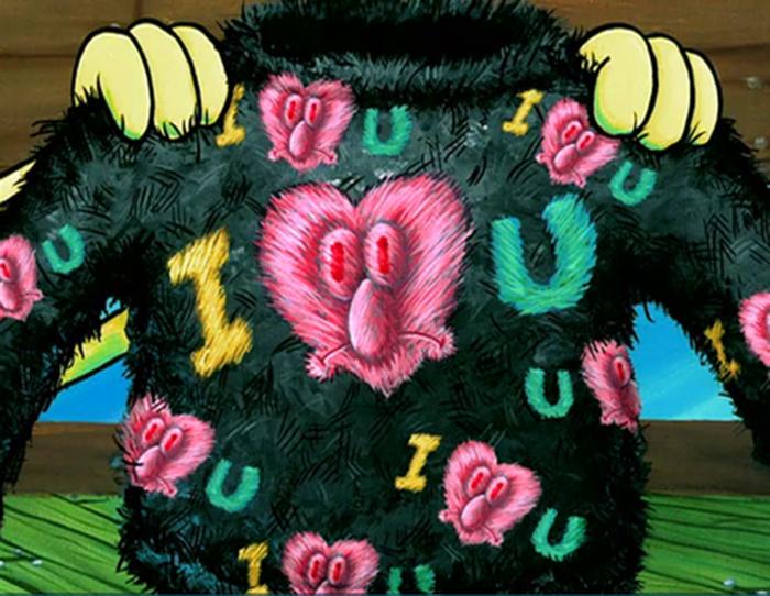 Eyelash Sweater Spongebob Galaxy Wiki Fandom Powered By Wikia