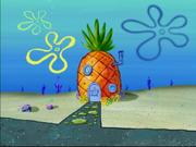 SpongeBob's pineapple house