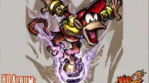 Diddy Kong's Theme - HQ Album Mario Strikers Charged Football
