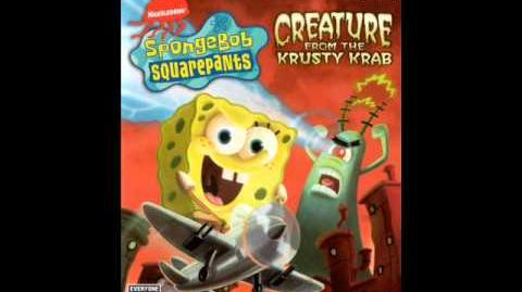 Spongebob CFTKK music (PS2) - Revenge of the giant plankton monster