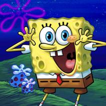 SpongeBob Bikinibroek s nachts