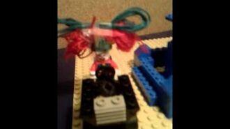 """Lego Spongebob 32 """"Pratende fontein en Eddie"""" !Nederlands gesproken!"""