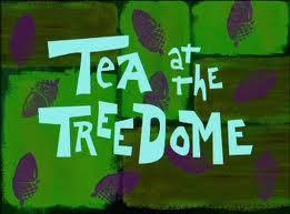 Bij Sandy op de thee