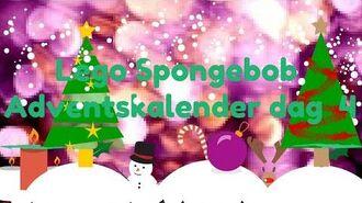 "Lego Spongebob (S2) 65''Lego Spongebob Adventskalender dag 4"""