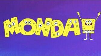 SpongeBob Sponge Out of Water - Thank Gosh It's Monday-0