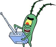 Plankton with remote