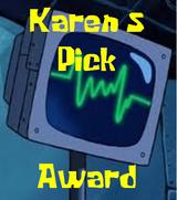 Karens pick