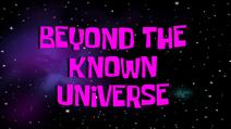 Knownuniverse
