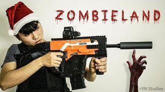 Nerf Zombie War The Walking Dead (Christmas Dream)