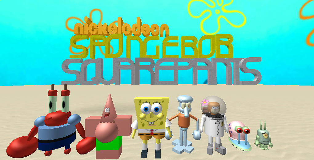 SpongeBob SquarePants (The Roblox Series)   SpongeBob Fanon