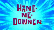 Hand-Me-Downer