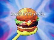 Krabby Patty Award