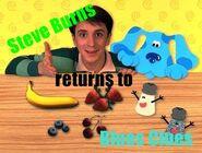 Steve Burns Returns to Blue's Clues