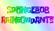 Spongebob rainbowpants