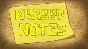 Krabby Notes