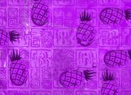 Naughty Nautical Neighbors Background (Purple Background with Purple Pineapples)