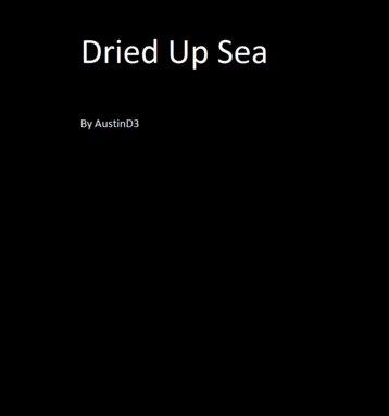 Dried Up Sea
