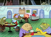 Lunchtime at the Krusty Krab