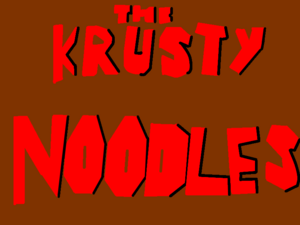 The Krusty Noodles Title card image