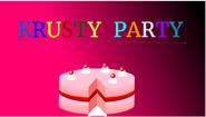 Krusty Party